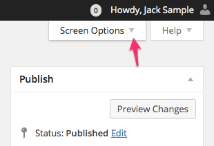 In the WordPress Screen Options, make sure Custom Author Byline is checked.